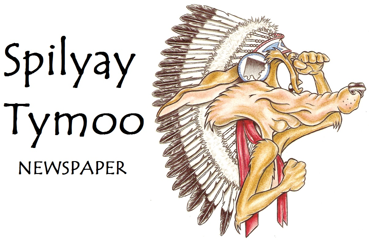 Spilyay Tymoo logo with name