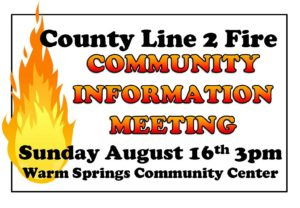 County Line 2 Fire MTG