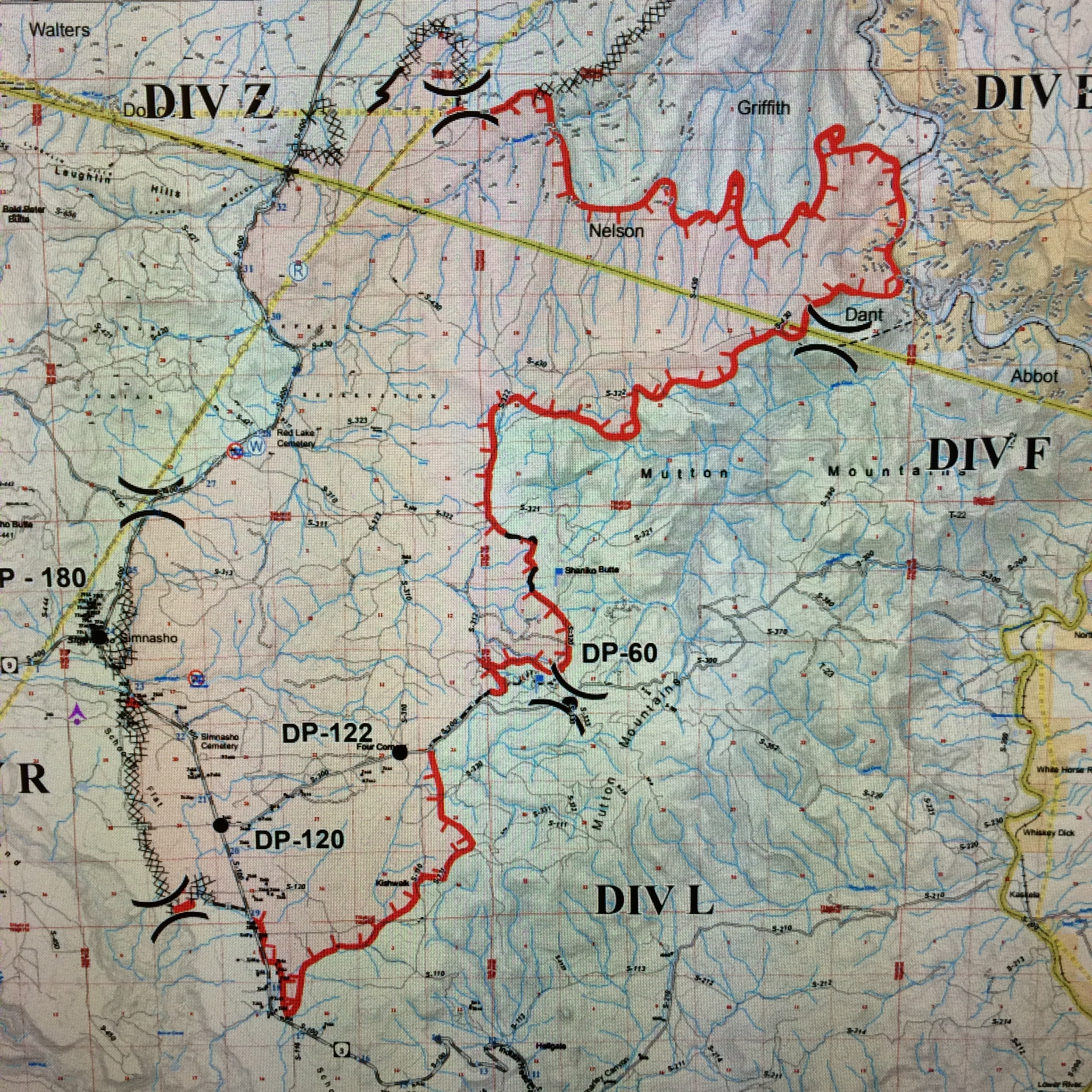 Nena Springs Fire UDDATE Sun Aug KWSO - Map of kahneeta oregon