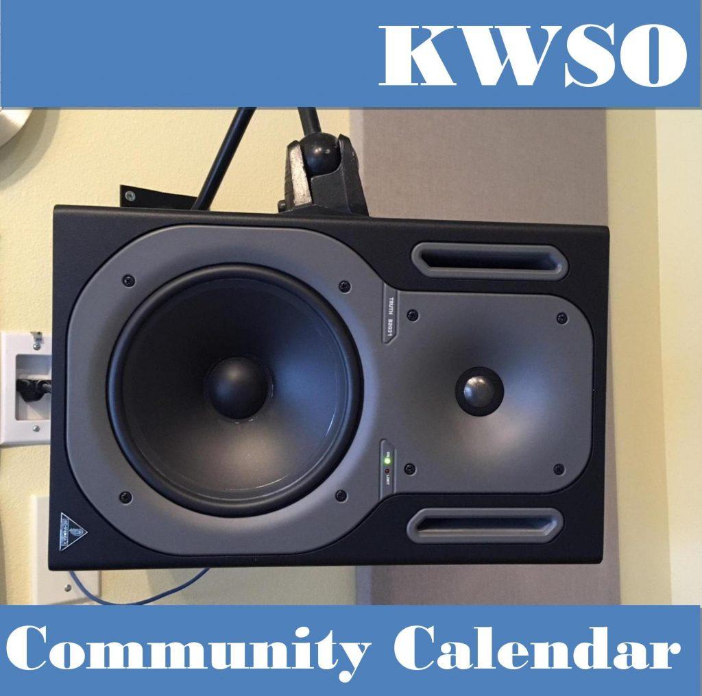 Calendar Thu , May 9, 2019 - KWSO 91 9